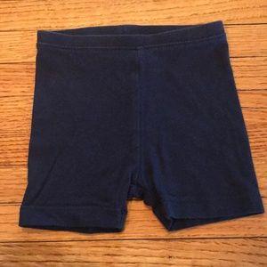 Navy cartwheel shorts or bike shorts Old Navy